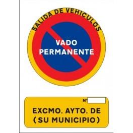 Ordenanza municipal reguladora de la concesión de licencias por entradas de vehículos a través de aceras y las reservas de vías públicas para aparcamientos exclusivos -vados- en el municipio de Respenda de la Peña (Palencia)